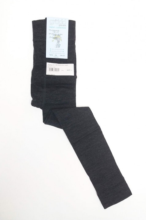Термолеггинсы детские Groedo 74091 темно-серый