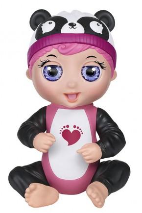 Ручная кукла интерактивная Tiny Toes Габби панда