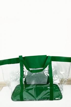 Сумка в роддом Экосумка средняя зеленая