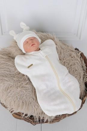 Комбінезон для новонароджених стеганний Magbaby зигзаг фіолетовий