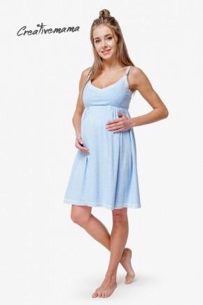 Ночная рубашка для беременных и кормящих Creative Mama Atlantik