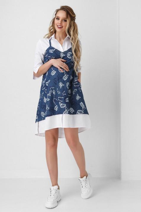 a72bd1700bbe18c Платье для Беременных и Кормящих Dianora Бабочки ✿ Заказать в ...
