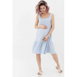 Платье-майка для беременных и кормящих Creative Mama Black chik