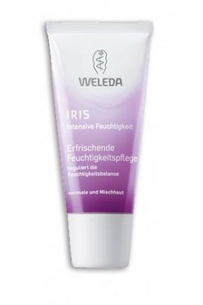 Ирисовый увлажняющий крем для лица Weleda легкий 30 мл