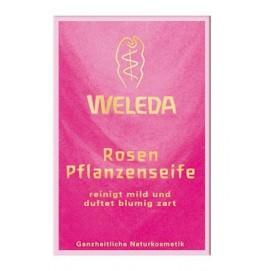 Рожеве рослинне мило Weleda 100 гр