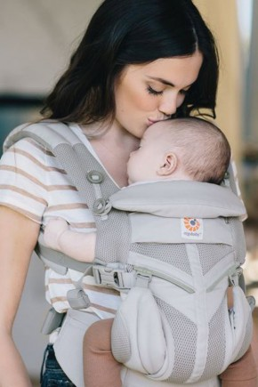 Эрго рюкзак Ergobaby Omni Mesh 360 - Light Grey