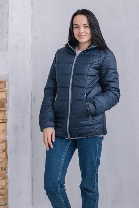 a224abaa9df5 Демисезонная куртка для беременных и слингоношения 3 в 1 Love&Carry синяя
