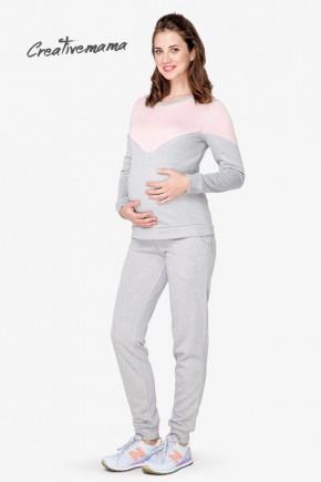 Спортивный костюм для беременных и кормящих Creative Mama Enjoy