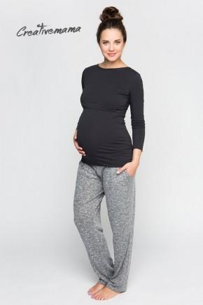 Лонгслив для беременных  и кормящих Creative Mama Urban