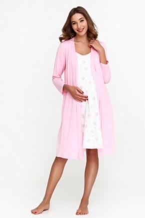 Халат для беременных и кормящих Creative Mama Rose