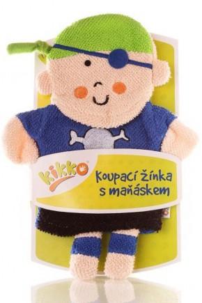 Мочалка-рукавичка ХККО мальчик пират
