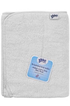 Махровое полотенце банное XKKO 150x75 Organic  - белое