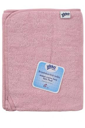 Махровое полотенце банное XKKO 150x75 Organic  - розовое