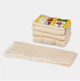Муслиновые пеленки-вкладыши из био-марли в многоразовый подгузник Disana