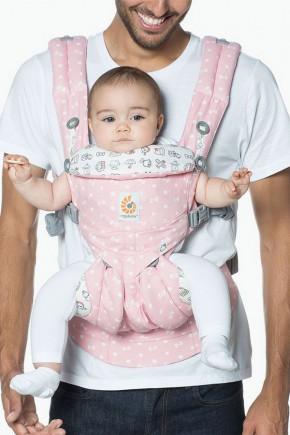 Ерго рюкзак Ergobaby Omni 360 - Hello Kitty синій з народження
