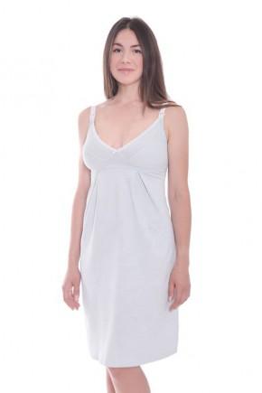 Ночная рубашка для беременных и кормящих Мамин Дом мятная