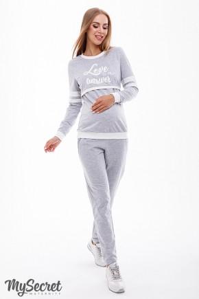 Спортивный костюм для беременных и кормящих Юла Mama Benji ST-39.041