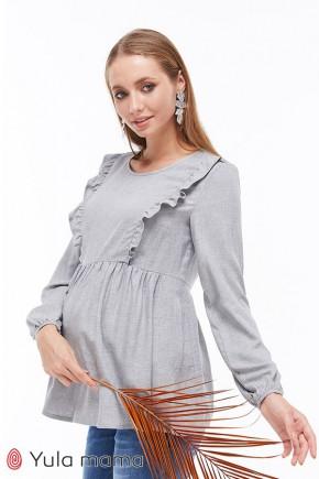 Блузка для вагітних і годуючих Юла Мама Remy BL-29.042