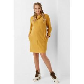 Платье для беременных и кормящих Dianora 1968 горчичное