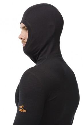 Термошорти жіночі Engel з вовни та шовку чорні