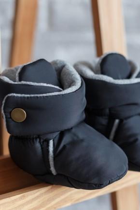 Пинетки-сапожки Magbaby черные