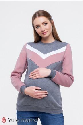 Світшот для вагітних і годуючих Юла Мама Saverine SW-39.011