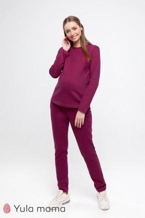 Спортивный костюм для беременных и кормящих Юла Mama Halle ST-49.071