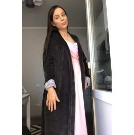 Теплый комплект в роддом халат + ночная Creative Mama Celine