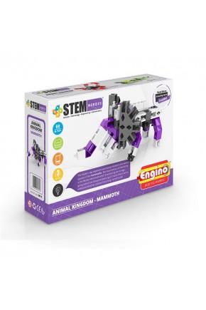 Конструктор серии STEM HEROES - Царство животных: мамонт