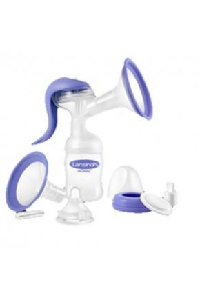 Ручной молокоотсос (2-фазн., накладка Comfort Fit™, 1 бут. 160 мл, зап. части, соска Natural Wave)
