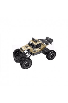 Автомобиль OFF-ROAD CRAWLER на р/у – CAR VS WILD (золотой, аккум. 3,6V, метал. корпус, 1:20)