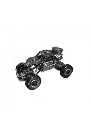 Автомобиль OFF-ROAD CRAWLER на р/у – ROCK SPORT (черный, аккум. 3,6V, метал. корпус, 1:20)