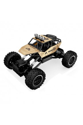 АвтомобильOFF-ROADCRAWLERнар/у–FORCE(золотой,аккум.7.2V,метал.корпус,1:14)