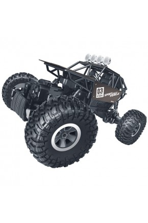 АвтомобильOFF-ROADCRAWLERнар/у–SUPERSPEED(матовыйкоричн.,аккум.4.8V,метал.корпус,1:18)