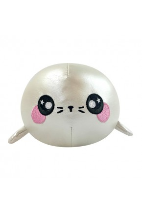 Ароматная мягкая игрушка SQUEEZAMALS S3 – ТЮЛЕНЬ СНЕЖОК (9 cm)