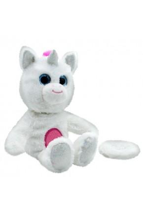 Мягкая игрушка-повторюшка BIGIGGLES - ЕДИНОРОГ (звук)