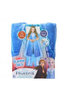 Плед-платье BLANKIE TAILS серии «Disney: Холодное сердце 2» – ЭЛЬЗА