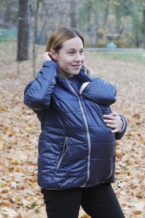 Демісезонна куртка для вагітних Lullababe прованс оливка