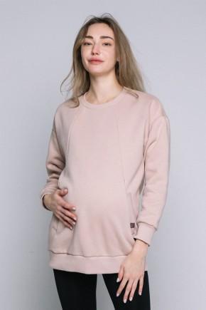 Свитшот для беременных и кормящих Love&Carry Бежевый