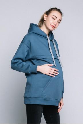 Худи для беременных и кормящих Love&Carry Джинс