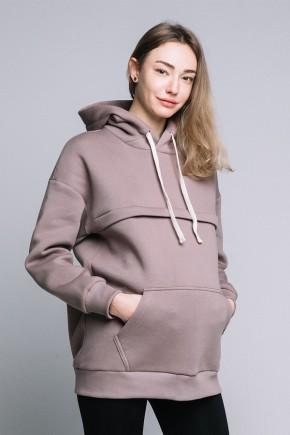 Худи для беременных и кормящих Love&Carry Капучино
