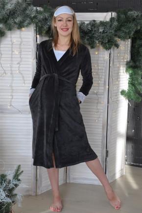 Теплый комплект в роддом халат + ночная Creative Mama Blu Girl