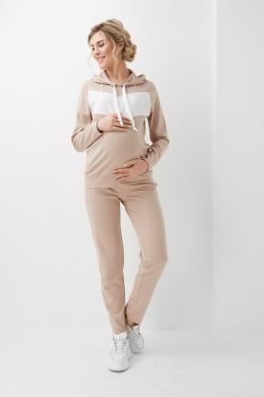 Спортивный костюм для беременных и кормящих Dianora 1048 бежевый