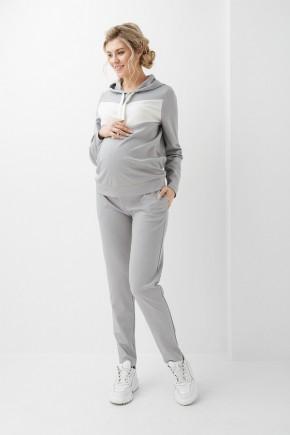 Спортивный костюм для беременных и кормящих Dianora 1300 серый