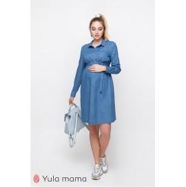 Платье-рубашка для беременных и кормящих Юла Mama Vero DR-10.032