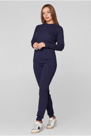 Спортивный костюм для беременных и кормящих Lullababe Manhattan синий
