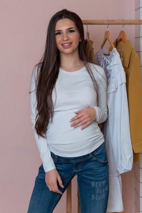 Джемпер для беременных и кормящих To be 4024 белый