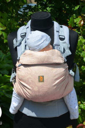 Эрго рюкзак с рождения Nash sling Combi - Пудра