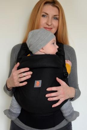 Эрго рюкзак с рождения Nash sling Combi - Black