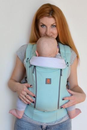 Эрго-рюкзак с вентиляционной сеткой Nashsling Climate Control - Мята